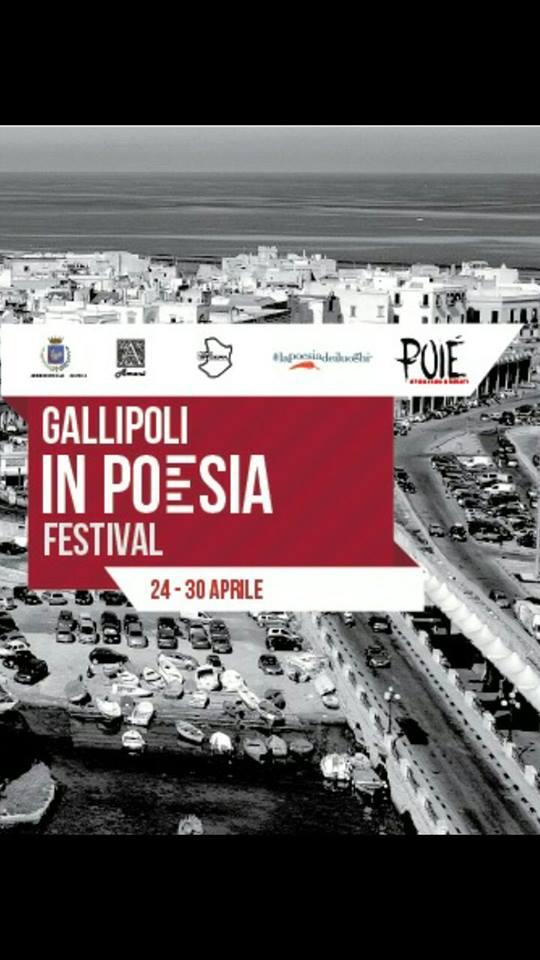 Poié – Festival della poesia Gallipoli – Anna Ruotolo